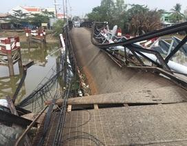 Vụ sập cầu ở Sài Gòn: Sẽ đề nghị khởi tố tài xế nếu cố tình chở quá tải