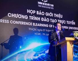 Trường ĐH Mở TP.HCM giới thiệu chương trình đào tạo trực tuyến