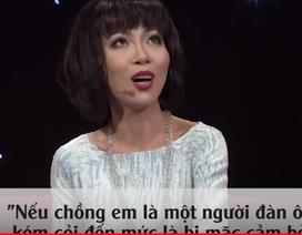 """MC Trác Thúy Miêu bị """"sét đánh"""" từ lần đầu khi gặp người chồng kém 8 tuổi"""