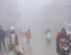 Không khí lạnh tăng cường trở lại, Bắc Bộ và miền Trung tiếp tục rét đậm