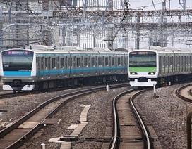 Tàu hỏa Nhật Bản giả tiếng chó và hươu để ngăn động vật đến gần