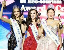 """""""Siêu vòng 3"""" Thanh Trang bất ngờ đăng quang Á hậu 2 tại Hoa hậu các quốc gia 2017"""