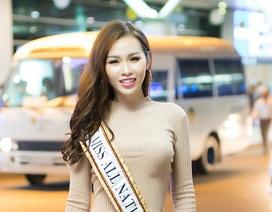 """""""Siêu vòng 3"""" Thanh Trang lên đường thi Hoa Hậu các quốc gia 2017"""