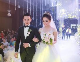 Top 10 Hoa hậu Việt Nam diện váy kim cưới trong lễ cưới hotboy cảnh sát