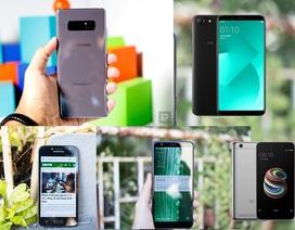 Loạt smartphone vừa bán tại Việt Nam trong tháng 1/2018