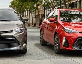 Top 10 mẫu xe bán chạy nhất thế giới năm 2017