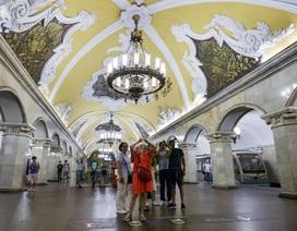 """Những kiệt tác kiến trúc dưới lòng """"trái tim"""" nước Nga"""