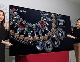 """LG khởi động """"cuộc đua"""" TV tại CES với TV 8K OLED siêu đắt"""