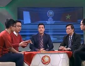 Chủ tịch Hội đồng HLV Quốc gia bật khóc trên sóng truyền hình sau khi U23 Việt Nam vào chung kết