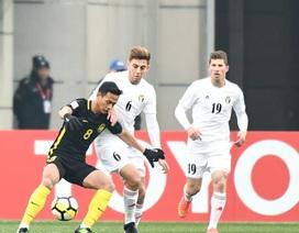 U23 Malaysia bất ngờ cầm hòa U23 Jordan tại giải châu Á