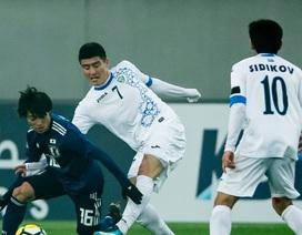 Thua đậm Uzbekistan, U23 Nhật Bản trở thành cựu vương giải châu Á