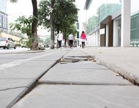 """Chủ tịch Hà Nội: """"Con ông cháu cha"""" hưởng lợi từ lát đá vỉa hè?"""