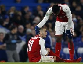 Arsenal đón tin buồn sau đại chiến với Chelsea
