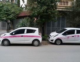 Hà Nội: Gần 20 xe ô tô bị xịt sơn bẩn trong đêm