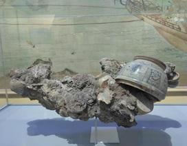 """Lần đầu tiên tiết lộ các """"báu vật"""" tìm thấy trong các tàu cổ bị đắm"""