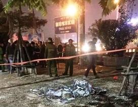 Một người tử vong khi xô xát gần cổng trụ sở công an tỉnh
