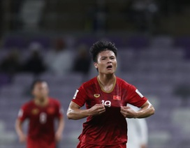 """Quang Hải dẫn đầu cuộc đua giành giải """"Cầu thủ hay nhất vòng bảng Asian Cup 2019"""""""