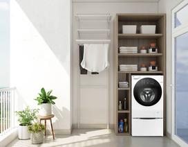 3 mẫu máy giặt lồng ngang bán chạy nhất của LG dịp Tết