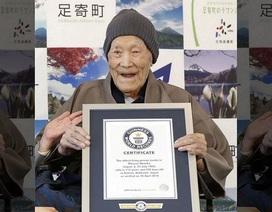 Người đàn ông lớn tuổi nhất thế giới qua đời