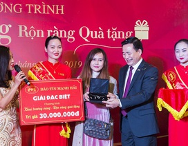 """Bảo Tín Mạnh Hải công bố kết quả chương trình bốc thăm: """"Khai trương vàng, rộn ràng quà tặng"""""""
