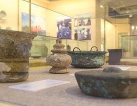 Chiêm ngưỡng cổ vật vớt từ tàu chìm dưới đáy đại dương Việt Nam