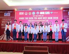 Cuộc thi Siêu trí nhớ Việt Nam 2019 chính thức khởi động