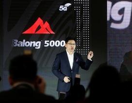 Huawei chính thức ra mắt chip 5G có tốc độ kết nối nhanh nhất thế giới