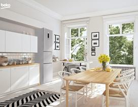 Tại sao người Châu  Âu ưa chuộng màu trắng khi thiết kế nhà?