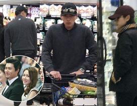 """Lộ ảnh Huyn Bin hò hẹn với """"chị đẹp"""" Son Ye Jin tại Mỹ"""