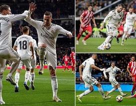 Thắng đậm Girona, Real Madrid rộng cửa vào bán kết Cúp Nhà vua