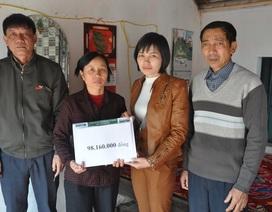 Bạn đọc giúp chị Nguyễn Thị Ngót hơn 98 triệu đồng