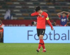 Thua sốc trước Qatar, Hàn Quốc bị loại khỏi Asian Cup 2019