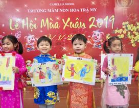 """Học sinh mầm non Hà Nội háo hức trong """"Lễ hội mùa xuân"""""""