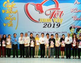 Phú Yên: Trao gần 500 suất quà Tết cho đoàn viên, người lao động khó khăn