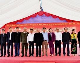 Vietcombank ủng hộ 6 tỷ đồng xây trường cho học sinh nghèo tại tỉnh Yên Bái