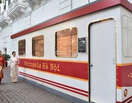 """Bước lên chuyến tàu điện """"leng keng"""" tới Chợ Tết 2019"""