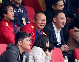U22 Việt Nam hoà Ulsan Hyundai trong ngày thầy Park dự khán