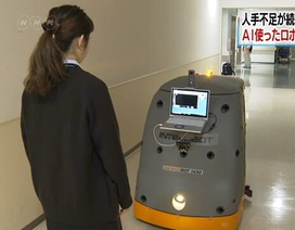 Nhật Bản: Người máy dọn vệ sinh hoạt động bằng trí tuệ nhân tạo
