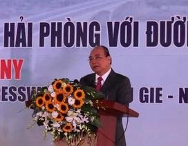 Thủ tướng phát lệnh thông xe cầu Hưng Hà và tuyến đường bộ trọng điểm Bắc Bộ