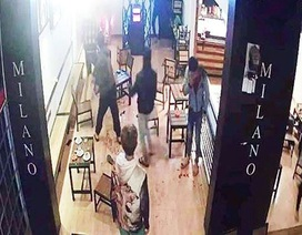 Chém người kinh hoàng trong quán cà phê, 6 người bị thương