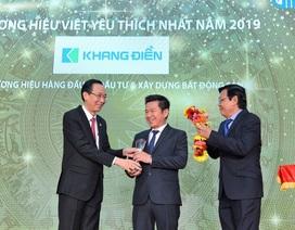 27 doanh nghiệp được trao Giải Thương hiệu Việt yêu thích nhất 2019