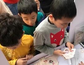 Hà Nội: Học sinh trải nghiệm cái Tết thời mậu dịch