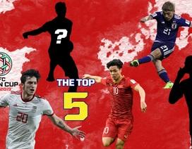 Công Phượng lọt top 5 cầu thủ ấn tượng nhất vòng tứ kết Asian Cup