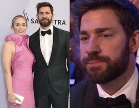 Chồng Emily Blunt rưng rưng lệ khi vợ nhận giải SAG