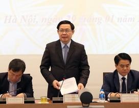 """Phó Thủ tướng: Muốn """"đại bàng"""" ở, Hà Nội phải có tổ ấm áp!"""