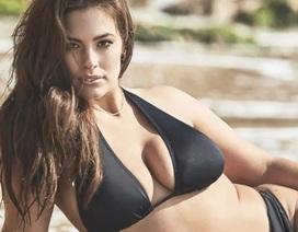 Siêu mẫu ngoại cỡ Ashley Graham nóng bỏng với bikini