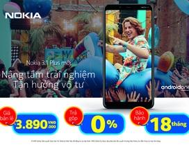 """Bất ngờ với mức giá Nokia 3.1 Plus ưu đãi """"khủng"""" dịp tết"""