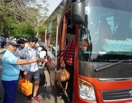 Hàng trăm hành khách được vận chuyển bằng ô tô sau sự cố tàu trật bánh