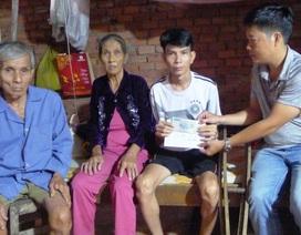 """Bạn đọc hỗ trợ """"nóng"""" 5 triệu đồng giúp anh Trần Văn Trình có cái tết đầm ấm"""