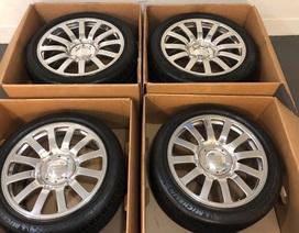 Bộ bánh xe Bugatti Veyron cũ được rao bán giá hơn 2,3 tỉ đồng